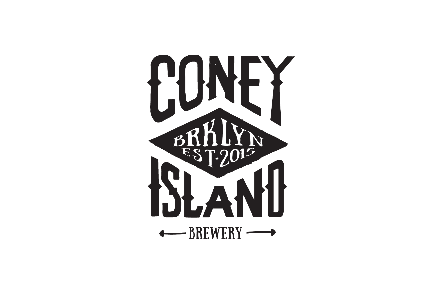 Hand rendered tee shirt design for Coney Island Brewery by Clutch Creative Co - Burlington, VT graphic design.