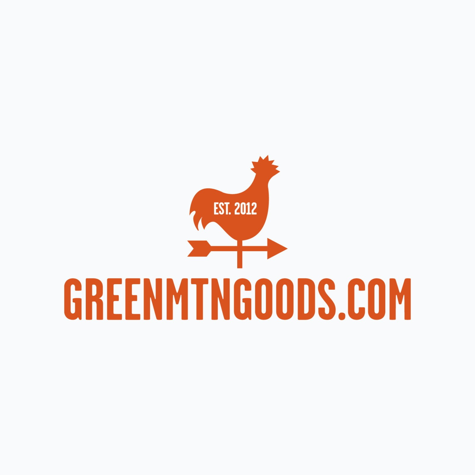 Burlington logo design for Green Mountain Goods. Clutch Creative Co. Burlington, VT