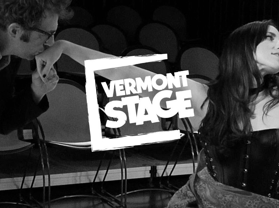 Vermont Stage Company logo design by Clutch Creative Co.