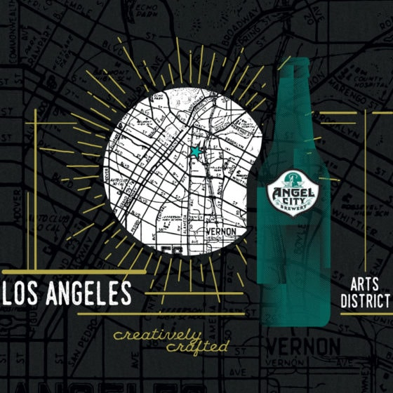 Angel City Brewery Graphic Design