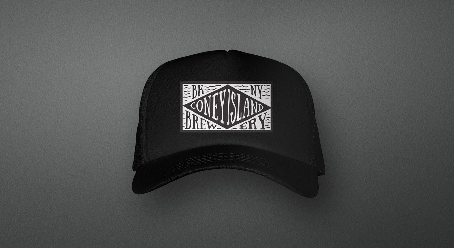 Brewery hat design by Clutch Creative Co. Burlington, VT graphic design company.