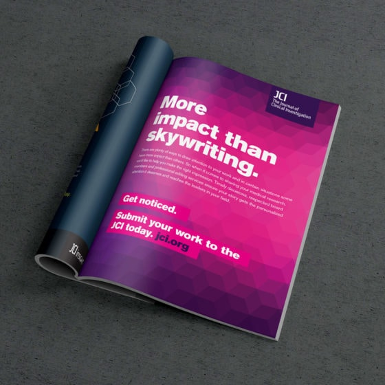 The Journal of Clinical Investigation advertising campaign.