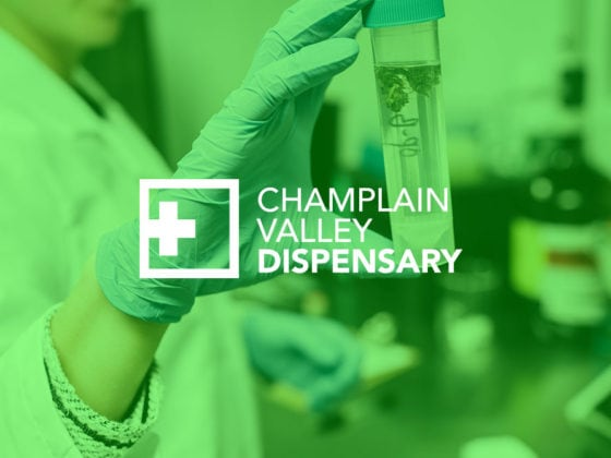 Champlain Valley Dispensary Branding and Packaging design
