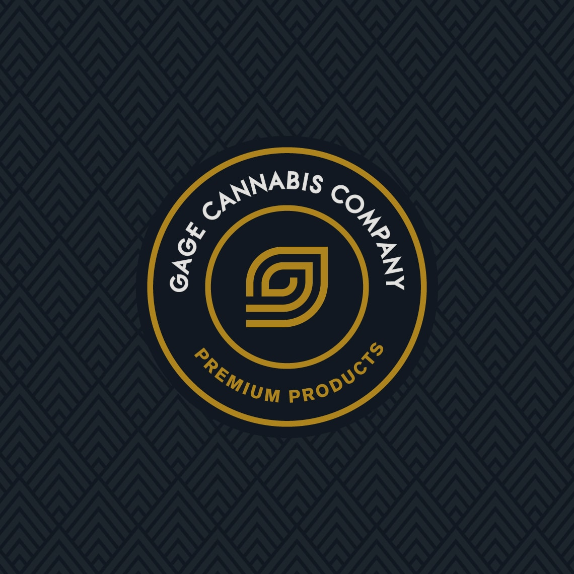 Gage Cannabis Dispensary Logo Design