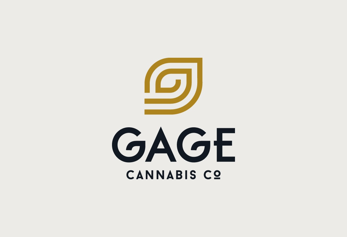 Gage Cannabis Company - Marijuana logo design example