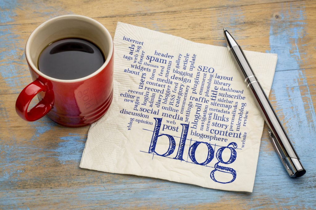 Tips on writing SEO friendly blog posts.