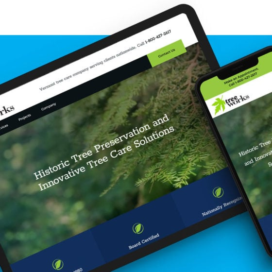 Small Business Web Design - Treeworks